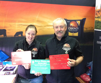 Orkney Cheddar wins big at The Royal Highland Show!